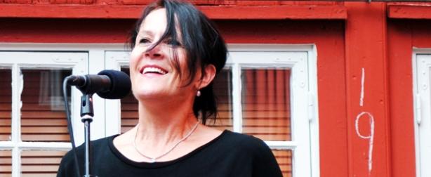 Vigdis Hjorth deltok som litteratursupport under Canal Street i 2011. Foto: Stina Arstad.