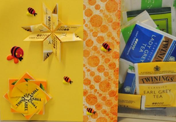 Fra tepose-emballasje til vakre kort! Lær dette på biblioteket lørdag 25.februar