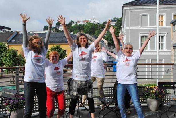 Aust-Agder bibliotek og kulturformidling ønsker velkommen til en formidlingsfest i Arendal fredag 27. juli. Foto: Linda Sætra
