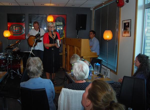 Ann Kavli, med Espen Larsen og Rasmus Solem